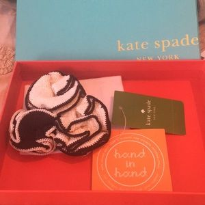 Kate spade knit flower hair piece